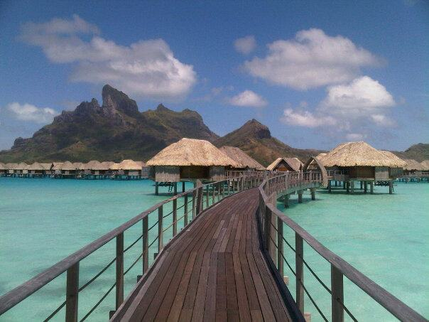 Overwater Bungalows in Bora Bora can go for thousands--when your annual fee is only $49!