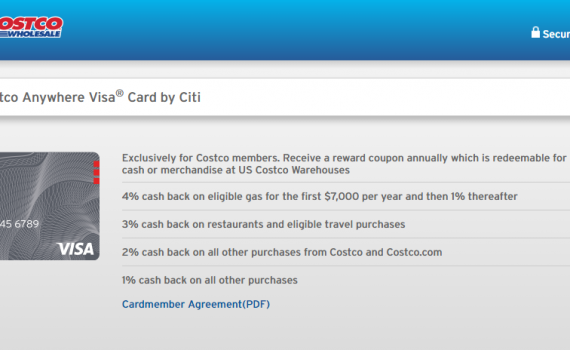 And A New Costco Card From Citi
