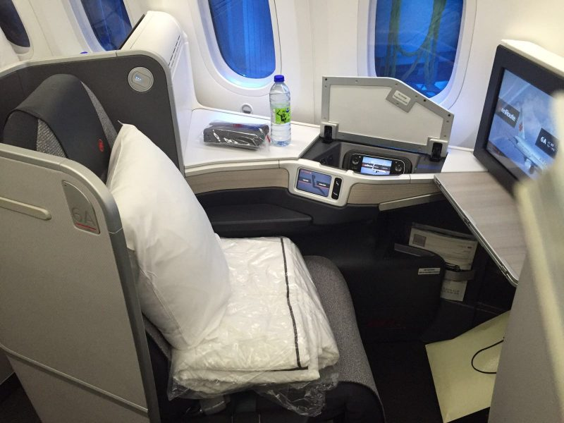 Air Canada's Business Class - It's not First, but it'll do.