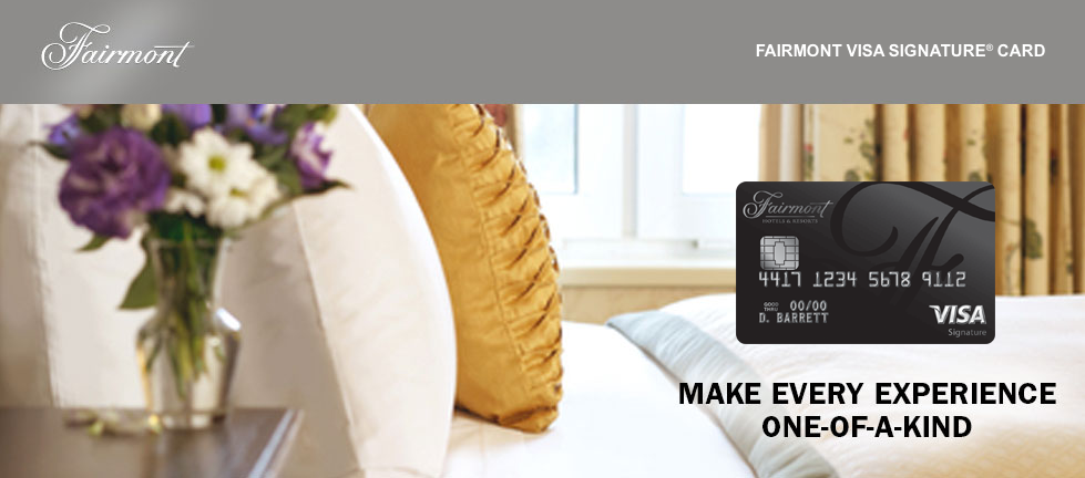 Fairmont Visa Signature® Card