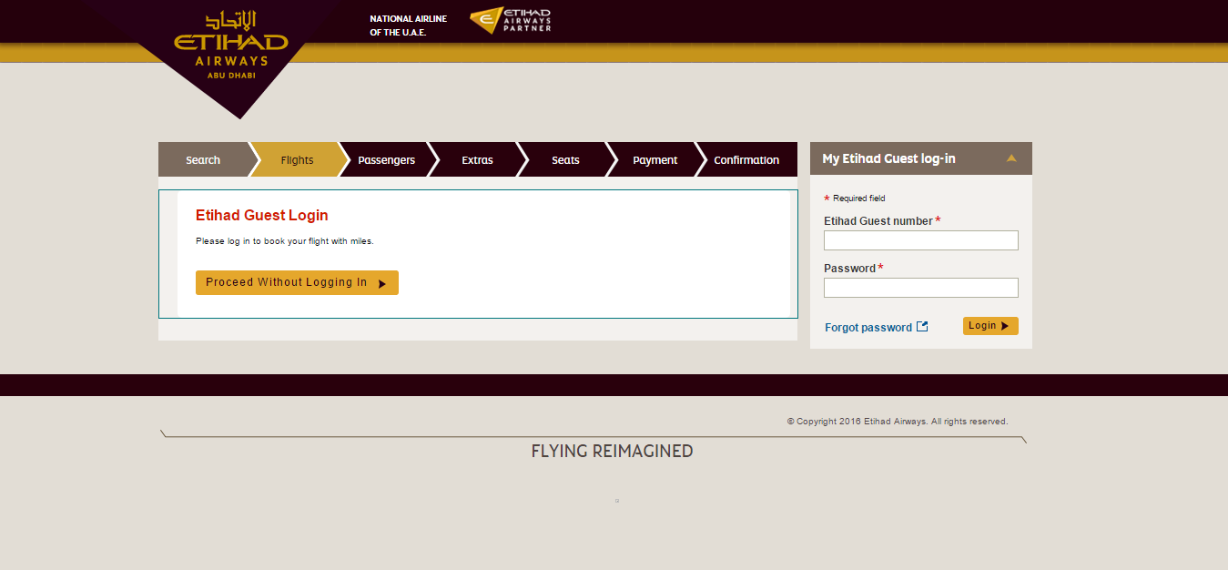 how to get frequent flyer number for etihad