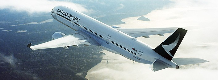 Cathay Pacific's new A350-900. Image courtesy of Cathay Pacific.
