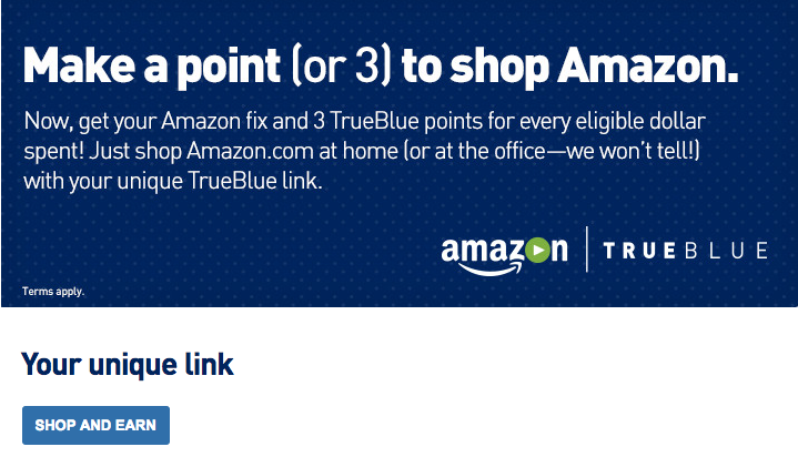 JetBlue TrueBlue Amazon2